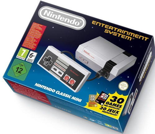 Nintendo Entertainment System - Classic Mini Console [NES]
