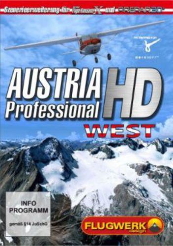 Austria Professional HD West für FXS und Prepar 3D