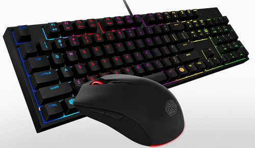 MasterKeys Lite L Bundle Gaming RGB Keyboard & Mouse [Swiss Layout]