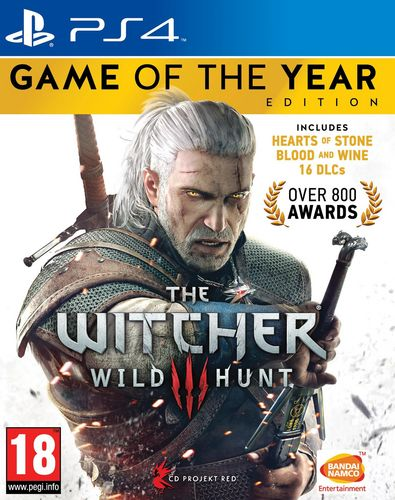 The Witcher 3 : Wild Hunt - GOTY [PS4]