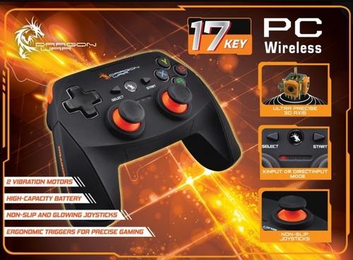 Dragon Shock Ultimate Wireless PC Controller