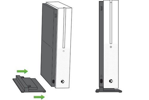 Xbox One S Vertical Stand [XONE]