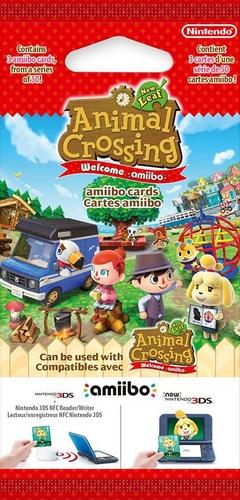 Carte amiibo di Animal Crossing: New Leaf 3 pezzi