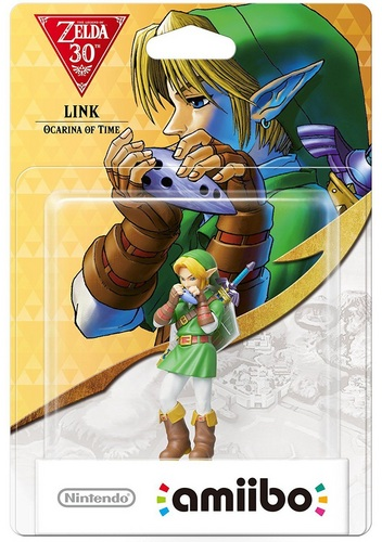 amiibo The Legend of Zelda Collection Link - Ocarina of Time