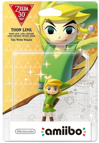 amiibo The Legend of Zelda 30th: Toon-Link - The Wind Waker