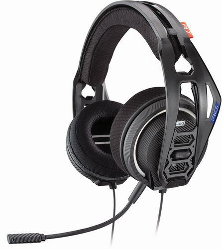 RIG 400HS Stereo Gaming Headset - black [PS4]