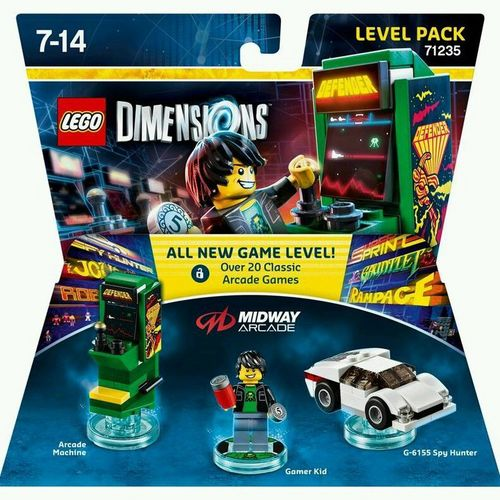 LEGO Dimensions Level Pack - Midway Arcade