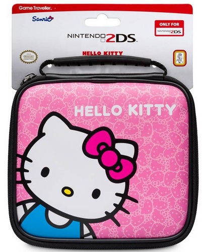 Game Traveler Hello Kitty - pink [2DS]