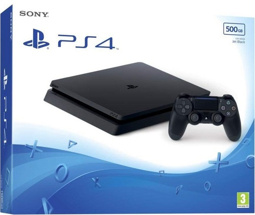 Sony PlayStation 4 Console Slim 500GB - black [PS4]