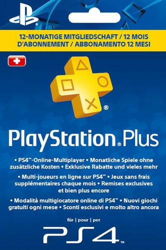PSN PlayStation Plus Card 12 Monate [PS4]