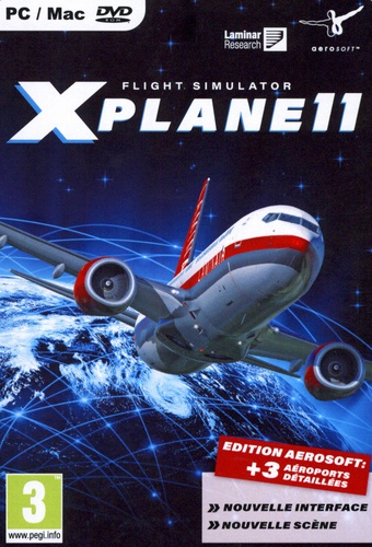 Flight Simulator X-PLANE 11 [DVD]
