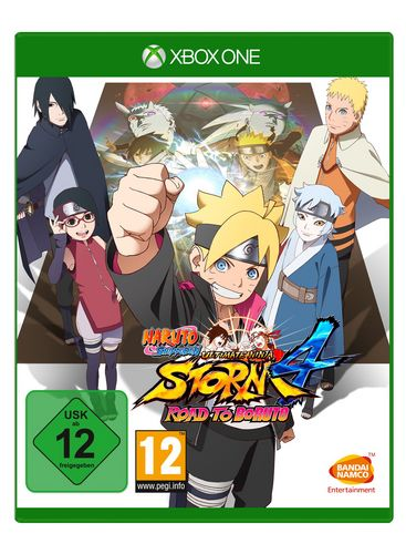 Naruto Ultimate Ninja Storm 4 - GOTY - Road to Boruto [XONE]
