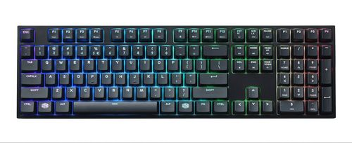 MasterKeys Pro L RGB Gaming Keyboard Swiss Cherry MX Red
