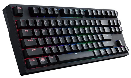 MasterKeys Pro S RGB Gaming Keyboard Swiss Cherry MX Brown