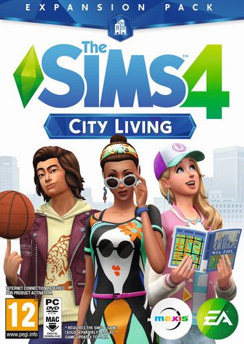 The Sims 4 City Living - Add-On [DVD]