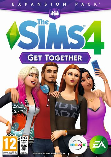 The Sims 4 Get together - Add-On [DVD]