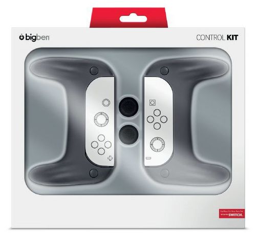 Nintendo Switch Grip-Set 2-pack - black [NSW]