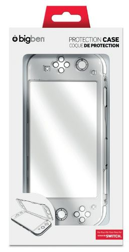 Nintendo Switch Polycarbonat Hardcase - smokey clear [NSW]