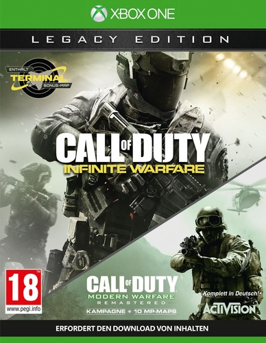 Call of Duty: Infinite Warfare - Legacy Edition inkl. Terminal [XONE]