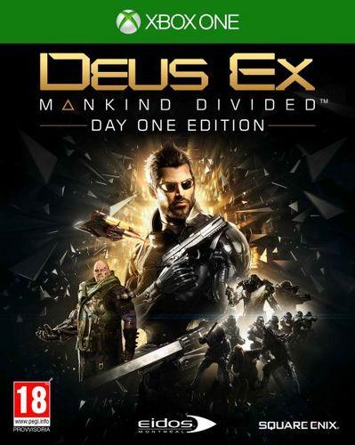 Deus Ex Mankind Divided Day One Edition [XONE]