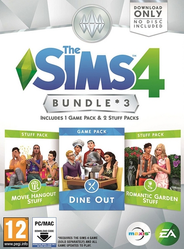 The Sims 4 - Bundle 3 [DVD]