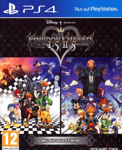 Kingdom Hearts HD 1.5 & 2.5 ReMIX [PS4]