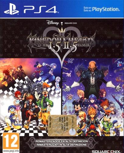 Kingdom Hearts HD 1.5 & 2.5 ReMIX [PS4]