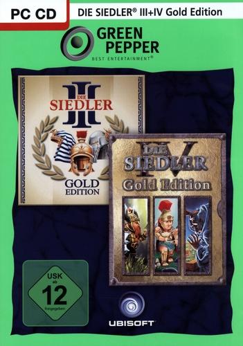 Green Pepper: Die Siedler 3 Gold + Die Siedler 4 Gold [DVD]