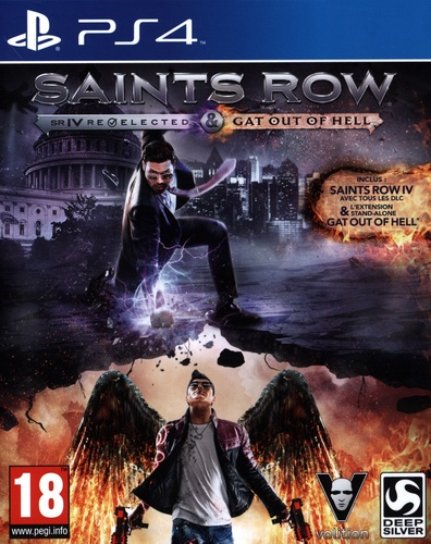 Saints Row 4 Gooh edition [PS4]