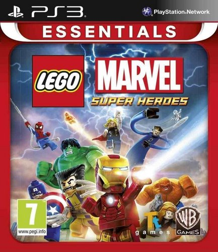 Essentials : LEGO Marvel Super Heroes
