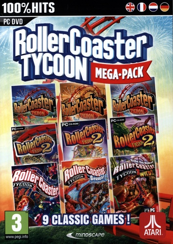 Roller Coaster Tycoon 9 - Mega Classic Games [DVD]