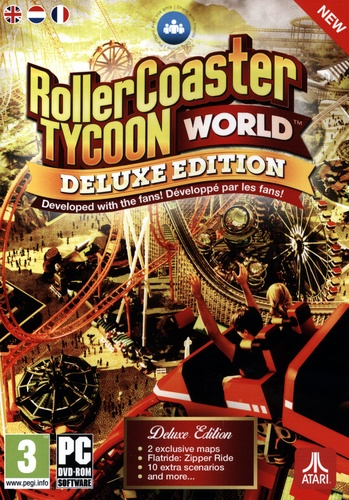 Roller Coaster World - Deluxe Edition [DVD]