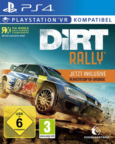 DiRT Rally plus VR Upgrade [PS4]