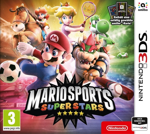 Mario Sports Superstars + amiibo-Karte
