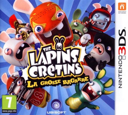 Les Lapins Crétins : la grosse bagarre
