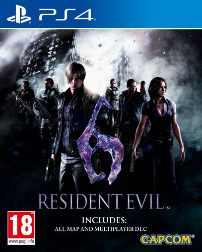 Resident Evil 6 HD [PS4]