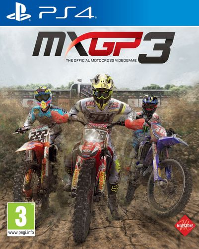 MXGP 3 - The Official Motocross Videogame [PS4]