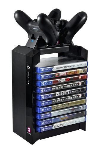 Games Tower + Dual Charger [PS4]