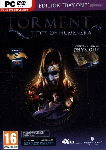 Torment: Tides of Numenera Day One Edition [DVD]