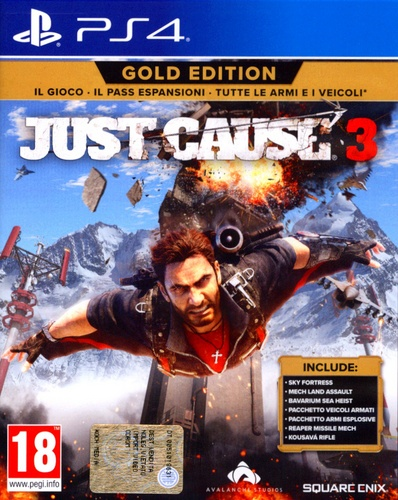 Just Cause 3 Gold Edition [PS4]
