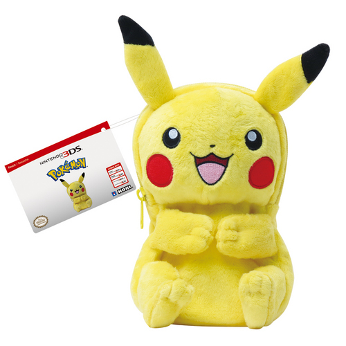 Plush Pouch Pokémon - Pikachu Body