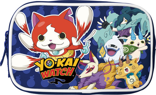Soft Pouch Yokai Watch - blau