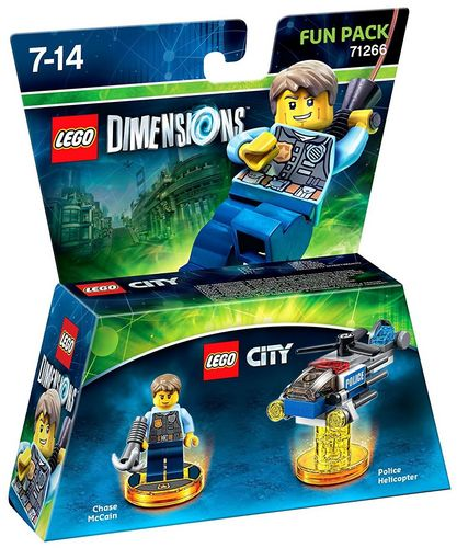 LEGO Dimensions Fun Pack - LEGO City Chase McCain