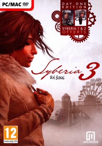 Syberia 3 Day One Edition - [Sybéria D1+ Sybéria 2+ Syberia 3]