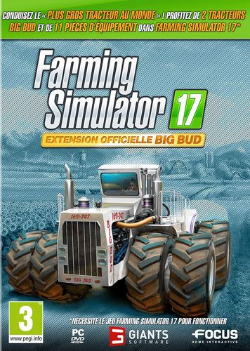 Farming Simulator 2017 - Extension Big Bud [DVD]