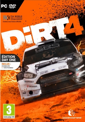 DiRT 4 Day One Edition [DVD]