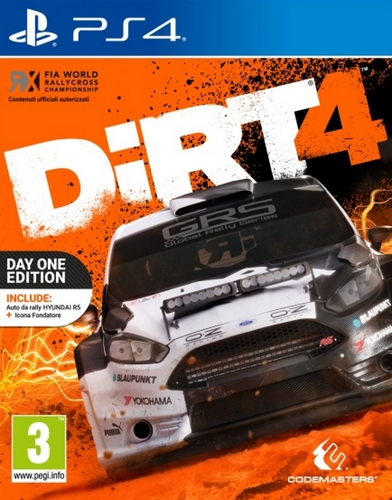DiRT 4 Day One Edition [PS4]