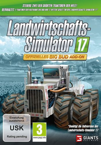 Landwirtschafts-Simulator 17 - Offizielles Big Bud Add-On [DVD]