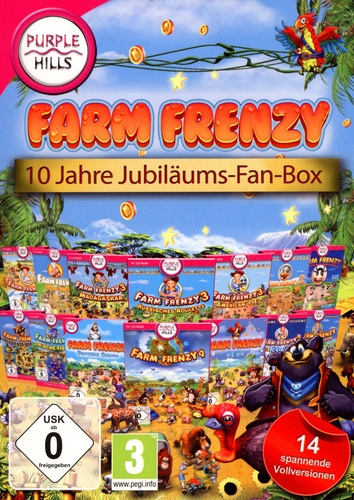 Purple Hills: Farm Frenzy 10 Jahre Jubiläums-Fan-Box