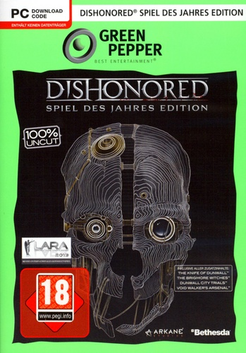 Green Pepper: Dishonored GotY-Edition